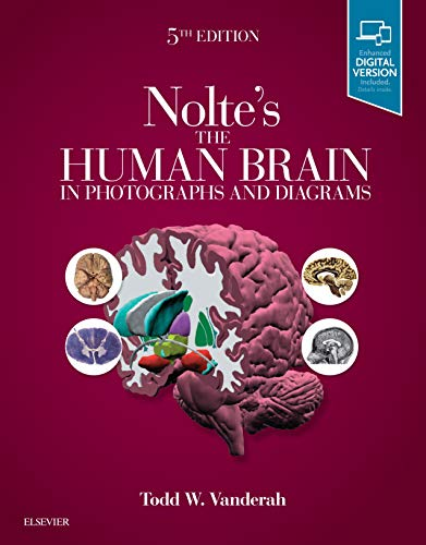 Nolte's The Human Brain in Photographs and Diagrams: With STUDENT CONSULT Online Access
