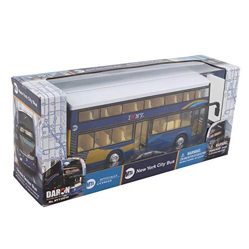 Daron Mta New York City Double Decker Bus 2019 New