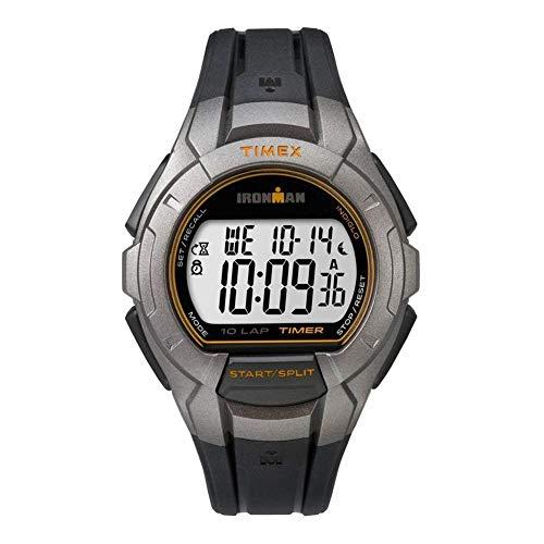 Timex TW5K93700 - Reloj Unisex de Cuarzo con dial de LCD Pantalla Digital y Resina, Color Negro