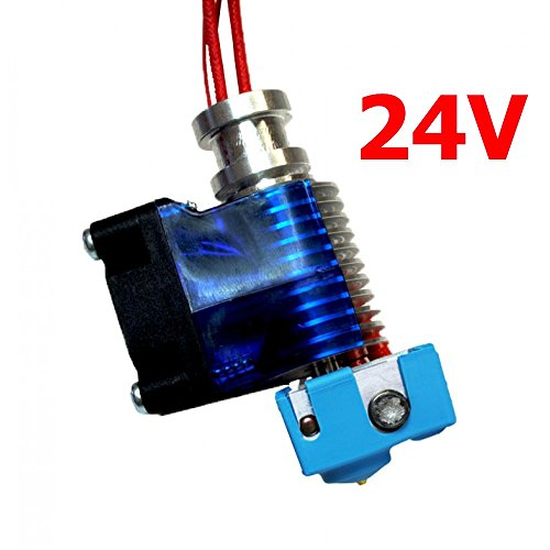 Genuine E3D V6 Full - Direct - 24V- Hotend, Compatible With The Full V6 Ecosystem And Many Other 3D Printers (M6 Thread)