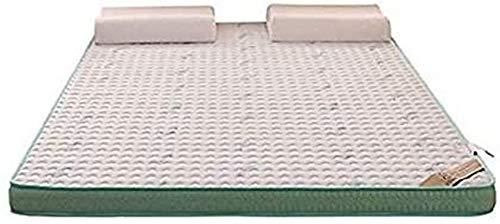 Bedroom Mattresses Mattress Bases High Performance Mattress,Natural Latex And Memory Foam Filling 6cm Mattress Stereoscopic Breathable Comfortable Single Double Size Mattress,90x200cm6cm