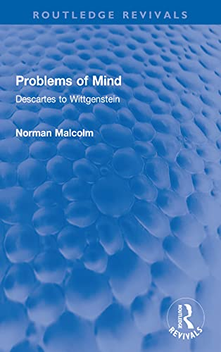 Book Cover for Problems of Mind: Descartes to Wittgenstein