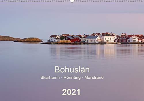 Bohuslän. Skärhamn - Rönnäng - Marstrand (Wandkalender 2021 DIN A2 quer): Idyllische Dörfer, zauberhafte Landschaften und eine traumhafte Schärenküste (Monatskalender, 14 Seiten )