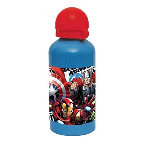 Avengers Marvel Helden drinkfles, 500 ml, aluminium