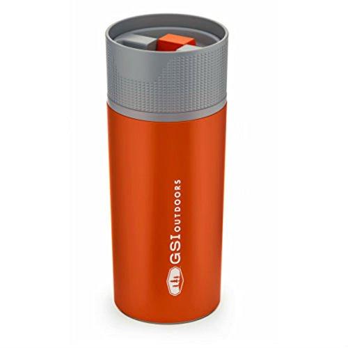 GSI Outdoors Stainless Vacuum Coffee Mug Pot, Mixte Adulte, Orange, Taille Unique
