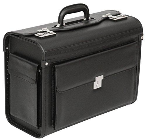 Tassia Pilotenkoffer Aktentasche, Laptop Tasche, Business Trolley Handgepäck - Dokumentenkoffer