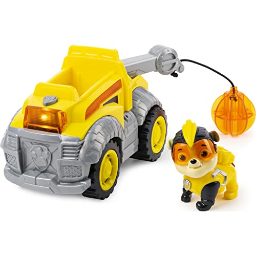PAW Patrol Mighty Pups Super Paws Baustellenauto...