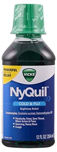 Nyquil Liquid Orig 12 Oz