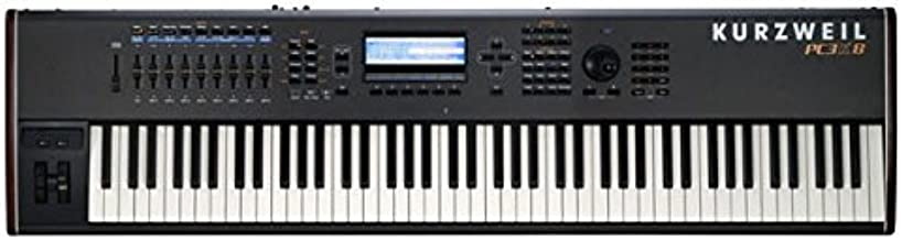Kurzweil PC3K8 88 Note Performance Controller and V.A.S.T Workstation with 128 MB Sample Ram Keyboard, Hammer Action Keys, Black
