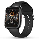 CatShin Smart Watch for Android Phone,Fitness Activity Tracker IP68 Waterproof with Heart Rate Monitor Sleep Monitor Blood Pressure Blood Oxygen Monitor SmartWatch for Men Women