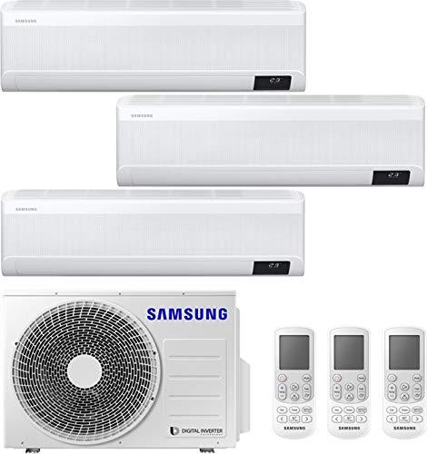 Climatizzatore Trial Split 9+9+9 Btu, Inverter con Pompa di calore, Gas R32 - Samsung Windfree Avant