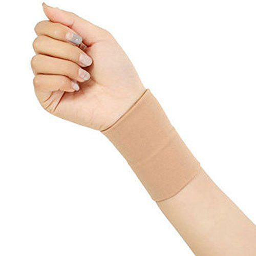 SPOTBRACE Medical Wrist Brace, 1 Pair Elastic Thin Wrist Bands Breathable Support Pain Relief Compression Wrist Sleeve Unisex for Wrist Swelling, Soreness, Carpal Tunnel and Sprained