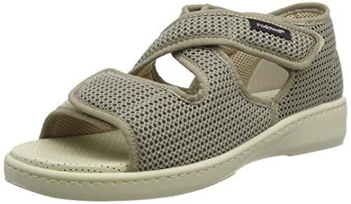 Podowell ANDALOU Unisex-Erwachsene Sneaker, Beige, 42 EU