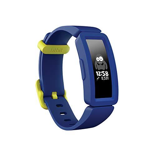 Fitbit フィットビット フィットネストラッカー Ace 2 お子様向け 超軽量20g ナイトスカイ+ネオンイエロー...