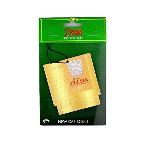 The Legend Of Zelda NES Cartridge Air Freshener | Official The Legend Of Zelda Video Game Collectible | New Car Scent
