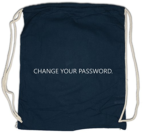 Urban Backwoods Change Your Password Bolsa de Cuerdas con Cordón Gimnasio