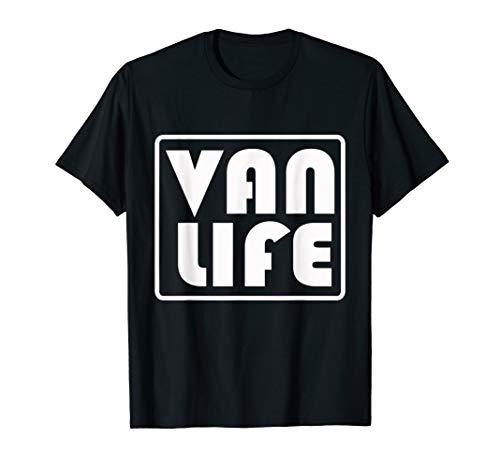 VAN LIFE OFFICAL BRAND PROMO VINTAGE LOGO T-SHIRT