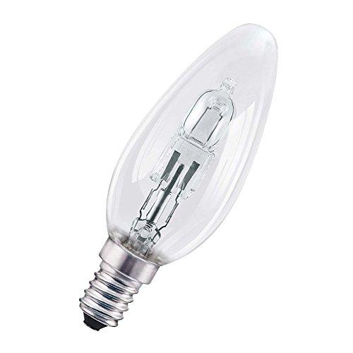 Osram Pro Classic B Halogen-Lampe, E14-Sockel, dimmbar, 30 Watt - Ersatz für 40 Watt, Warmweiß - 2700K