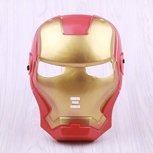 no bran Mscara de Iron Man de los nios de rendimiento de la bola de accesorios de Halloween mscara de los nios de dibujos animados mscara