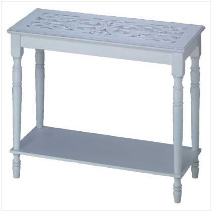 Home Locomotion Carved-Top Table by