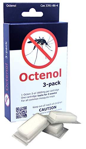 ATTRATTANTE di OCTENOLO Mosquito Magnet Tipo OCTENOL 3-Pack
