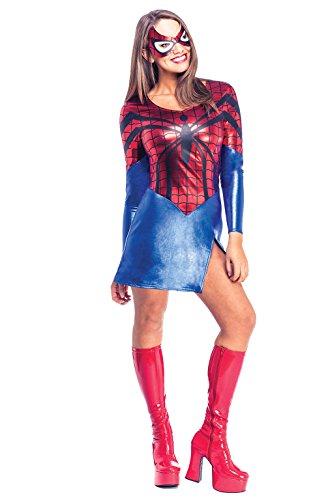 Rubie's Costume Officiel Marvel Spiderman pour Femme - Taille XS