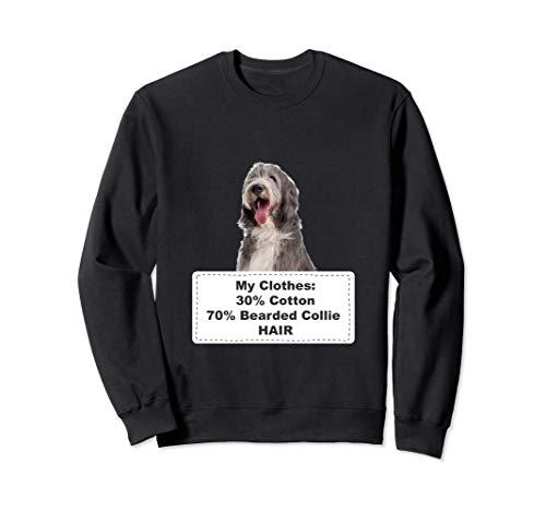 Funny Shedding Dog Bearded Collie 2 Sudadera