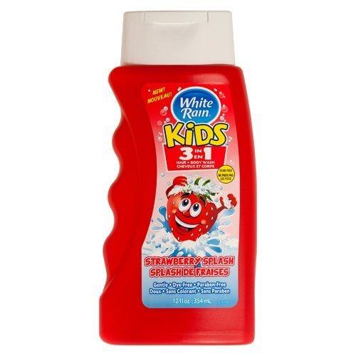 White Rain Kids 3-in-1 Hair and - Strawberry Body Wash oz. cheap 12 Fashionable
