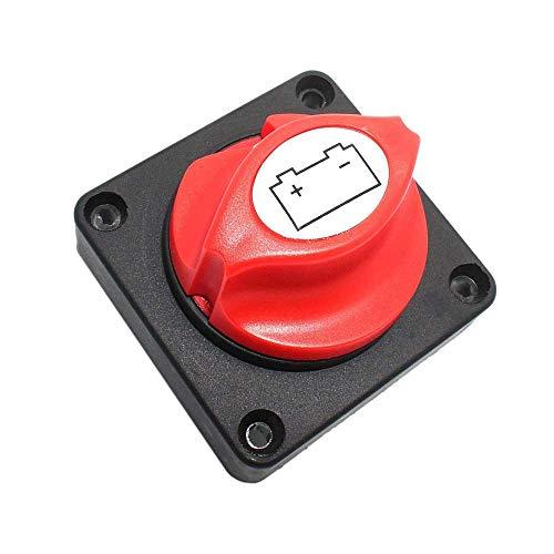 Interruptor aislador de batería, Interruptor de batería de automóvil, Interruptor de desconexión de batería para automóvil, Interruptor de batería de Corte de Servicio Pesado de 12 V a 48 V CC