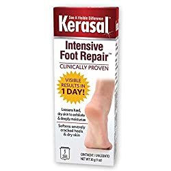 Kerasal Intensive Foot Repair, Deeply Moisturizes heel fissures - Visible Results in Just 1 Day