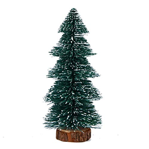 WDM Mini Árbol De Navidad - Decoración De Mesa Mini Árbol De Navidad Casa Oficina, Seguro Y Duradero De 15 Cm