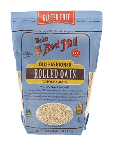 Bob's Red Mill Gluten Free Old Fashion Rolled Oats, 52 Oz