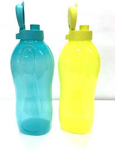 Botellas de agua dispensadoras de agua fría de 2 litros marca Tupperware, set de 2 unidades