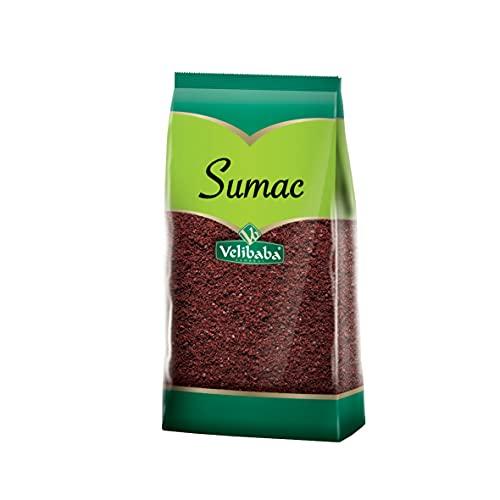 Velibaba Essential Herb & Spices-Condimento de primera calidad-100% natural (500 gr / 17.6 oz) (Sumac Spice)