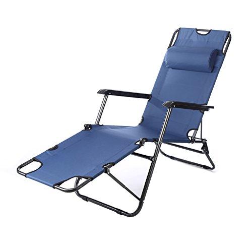 Sedia di stoffa Pieghevole per la casa Sedia a sdraio Semplice letto da campeggio all'aperto Divano poltrona Sedia da pesca poltroncina da esterni poltroncina da spiaggia Poltroncina con poggiapiedi