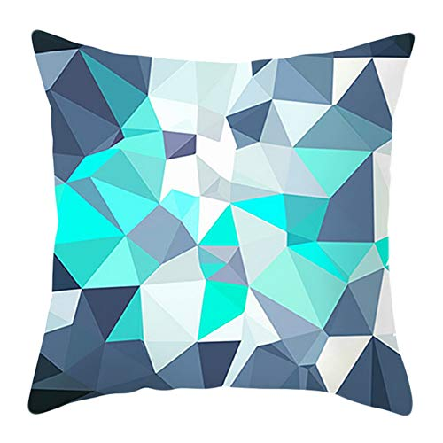 Demarkt Soft Cushion Covers Printed Space Decorative Cushion Cover in Geometric Pattern 45 x 45 cm Living Series Home Decorative, a, 45 * 45CM