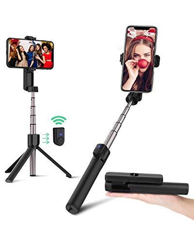 BlitzWolf Bastone Selfie Bluetooth Treppiede, Mini Asta per...