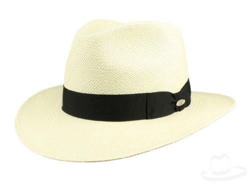 Mayser Menton Panama sombrero Traveller de paja–bleached beige 63