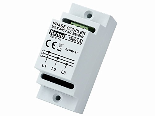 Kemo Phasenkoppler für Powerline Produkte M091A