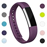 Adepoy Replacement Strap Bands Compatible For Fitbit Alta/Alta HR, Adjustable Sport Smartwatch Fitness Wristband for Women Men