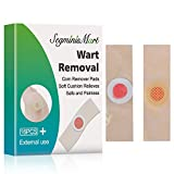 Wart Remover,Corn Remover Pads,Wart Removal Plasters,Foot Wart Remover,Common and Plantar Warts Treatment Relief Pain Removal Warts Plaster