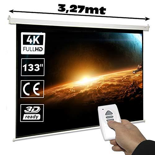 Pantalla de proyeccion electrica Luxscreen 133