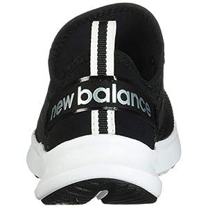 New Balance Women's FuelCore Nergize Sport V1 Sneaker, Black/White, 8.5 Wide