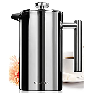 Secura Stainless Steel Household Automatic Coffee Grinding All-in-One Machine