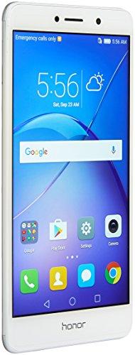 Huawei Honor 6X Dual Camera Unlocked Smartphone, 32GB Silver (US Warranty)