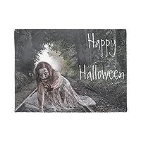 """玄関マット 屋外 室内 幸せなハロウィーンの女の子のドアマット 长方形绒毯 ハロウィーン 16""""x24"""""""