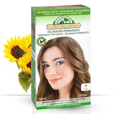 Corpore Sano Permanent Hair Color Dye