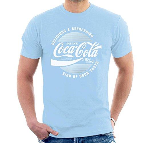 Coca Cola Circle Logo White Text Men