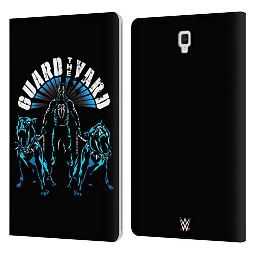 Official WWE Guard The Yard 2017 Roman Reigns Leather Book Wallet Case Cover Compatible For Galaxy Tab S4 10.5 (2018)