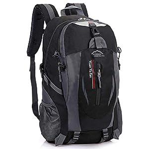 41ZwjGBZlYL. SS300  - Mochila de Viaje de Nylon para Hombres Mochila de Camping de Gran Capacidad Mochila Casual de 15 Pulgadas Mochila de…